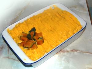 南瓜のスコップケーキ