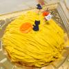 南瓜のシフォンロールケーキ