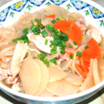 大根と鶏ももの甘辛生姜煮