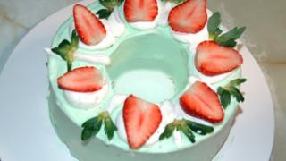 クリスマスのリングケーキ