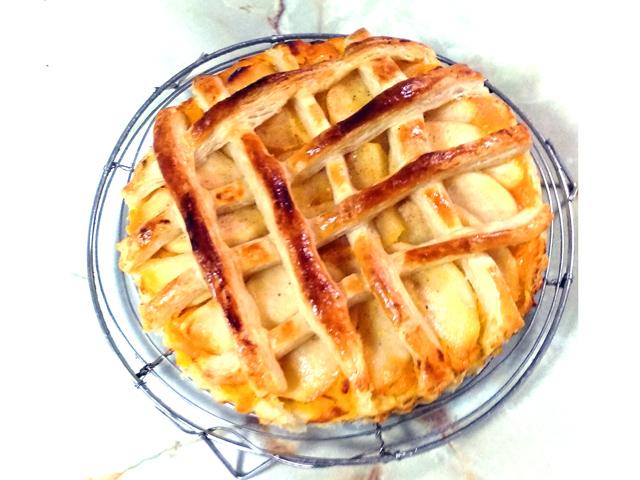 りんごと南瓜のダブルサクサクパイ