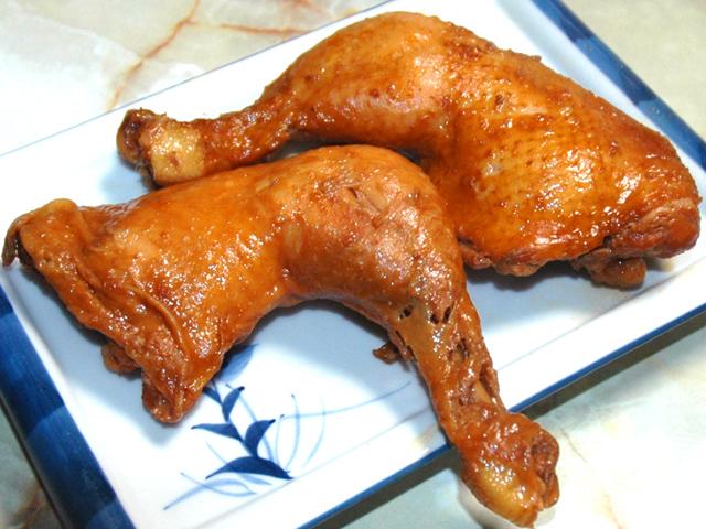 クリスマスパーティーに!骨付き鶏もも肉の醤油煮