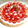 アーモンドクリームベースで!苺のフレッシュタルト