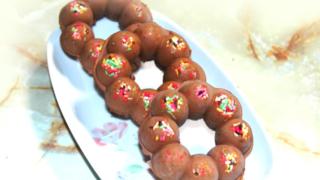 生チョコドーナツ風ポンデリング