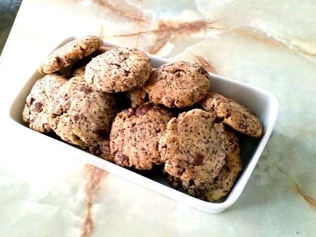 コーヒーの簡単サクサククッキー