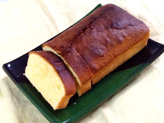 ゆずのしっとりパウンドケーキ