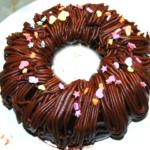 チョコモンブラン風リングケーキ