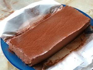 混ぜて冷やすだけのチョコムース