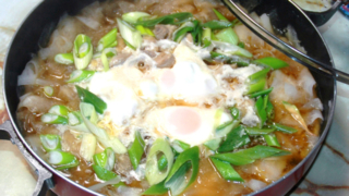 鶏モモと大根のヒラヒラ鍋