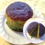 抹茶味のフォンダンショコラ風ケーキ
