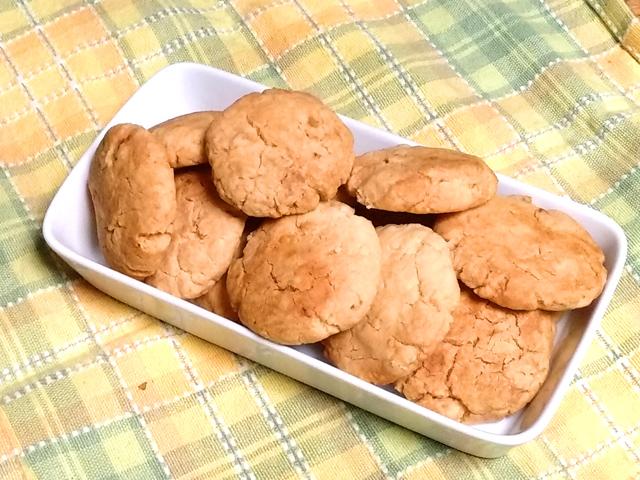 オレンジピールのサクサククッキー