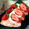苺とバナナのフルーツロール