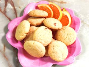 オレンジたっぷりオイルクッキー