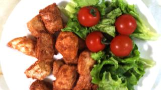 里芋のフライドポテト