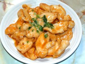 鶏胸肉の味噌マヨ焼き