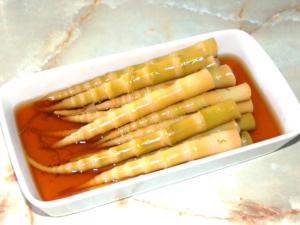 笹竹(姫竹)の簡単含め煮