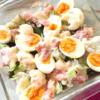 カリフラワーと卵のグラタン