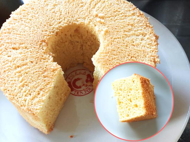 失敗知らずの豆腐シフォンケーキ