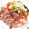 漬け込んで焼くだけ!豚バラと野菜のオーブン焼き
