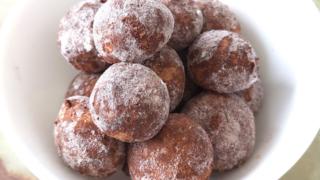 ココアのスノーボールクッキー