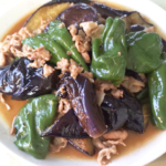 茄子とピーマン・豚こまのトロトロ煮