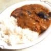 茄子とチキンのココナツミルクカレー