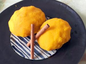 南瓜餡で作る簡単おはぎ