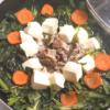 小松菜と豚こまの常夜鍋